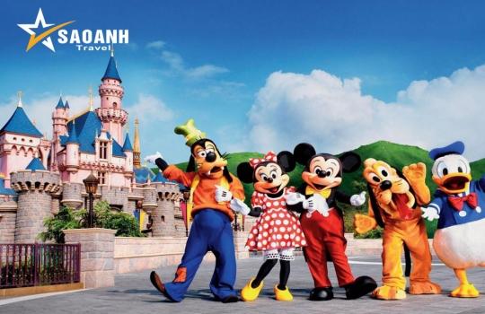Hà Nội - Hồng Kông – Disney Land